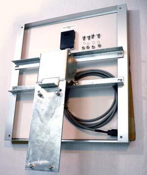 ソーラーパネル架台・取付金具を用いた設置例画像(1)