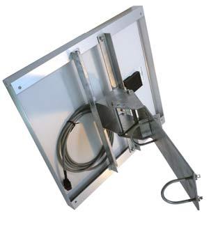 ソーラーパネル架台・取付金具を用いた設置例画像(2)