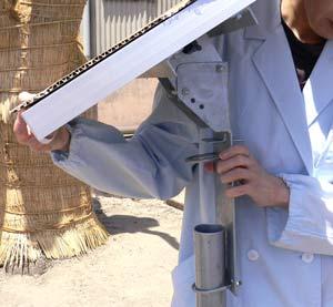 ソーラーパネル架台・取付金具を用いた設置例画像(3)