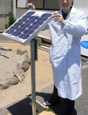 ソーラーパネル架台・取付金具を用いた設置例画像(5)